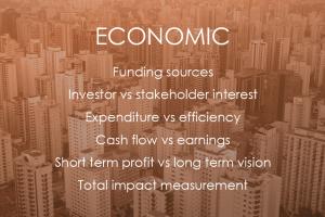 Economic, Sustainability